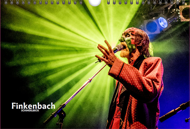 Finkenbach Festival Kalender 2017 von Frank Schindelbeck