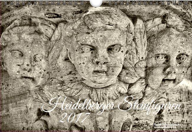 Heidelberger Steinfiguren 2017 Kalender - Schindelbeck Fotografie