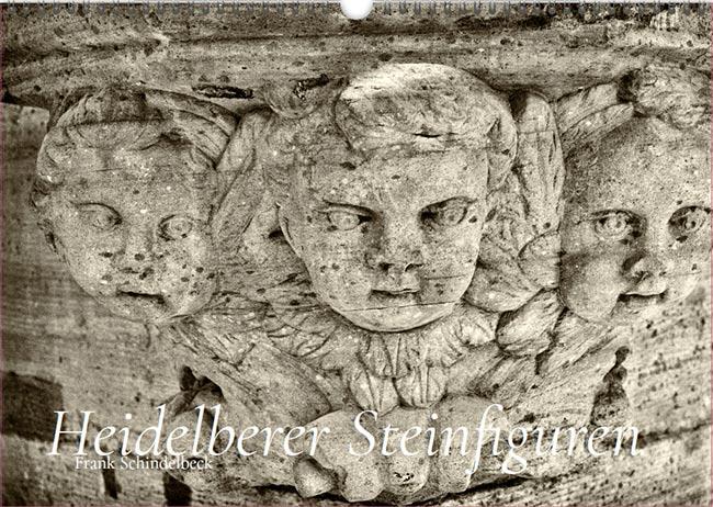 Heideleberger Steinfiguren Kalender Frank Schindelbeck 45x30 cm
