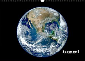 Weltraumbilder Kalender - der Spacekalender von kalenderexperte.de