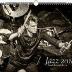 Jazzkalender Schindelbeck 2018 / Ausgabe A Titel Christian Lillinger