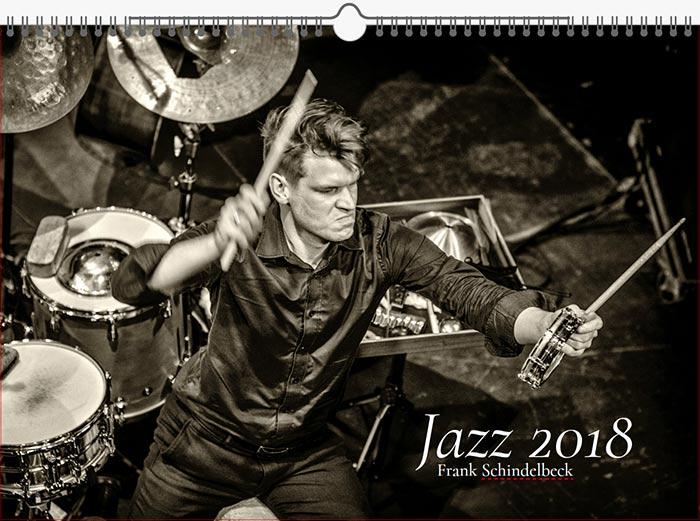 Jazzkalender Schindelbeck 2018 / Ausgabe A Titel