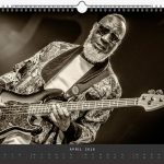 Jazzkalender Schindelbeck 2018 / Ausgabe A / Jamaladeen Tacuma