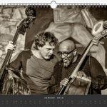 Jazzkalender Schindelbeck 2018 / Ausgabe B / Sebastian Gramss und William Parker