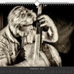 Jazzkalender Schindelbeck 2018 / Ausgabe B / Wilbert de Joode