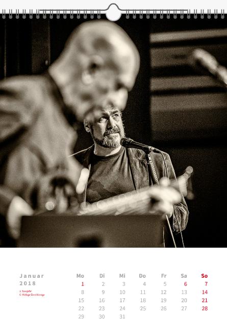 AKUT Festival - Kalender 2018 von Frank Schindelbeck