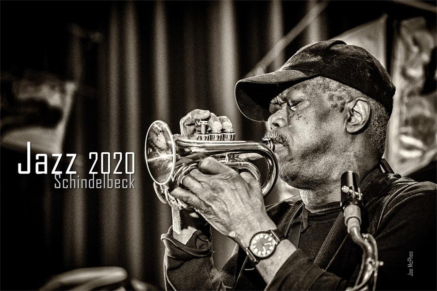 Jazzkalender 2020 Schindelbeck Jazzfotografie - Titel Joe McPhee